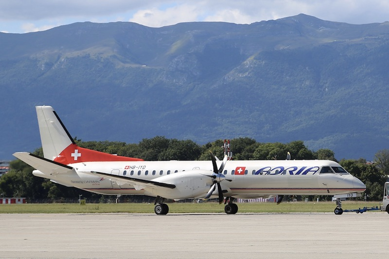 Darwin Airline, ex-Etihad Regional, opère sous le nom Adria Airways Switzerland
