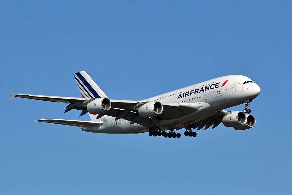 L'A380 accidenté d'Air France a quitté Goose Bay