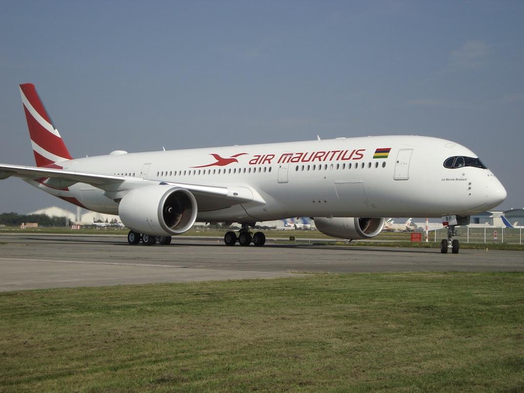 En images : Air Mauritius reçoit son premier A350