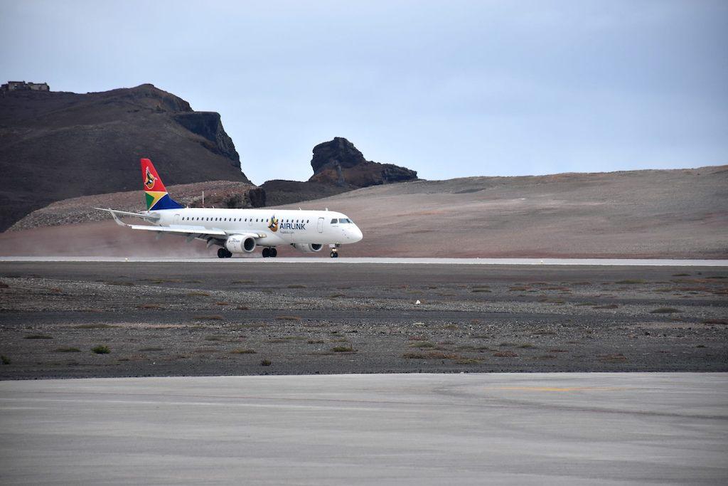 Île de Sainte-Hélène : Airlink opère le premier vol commercial