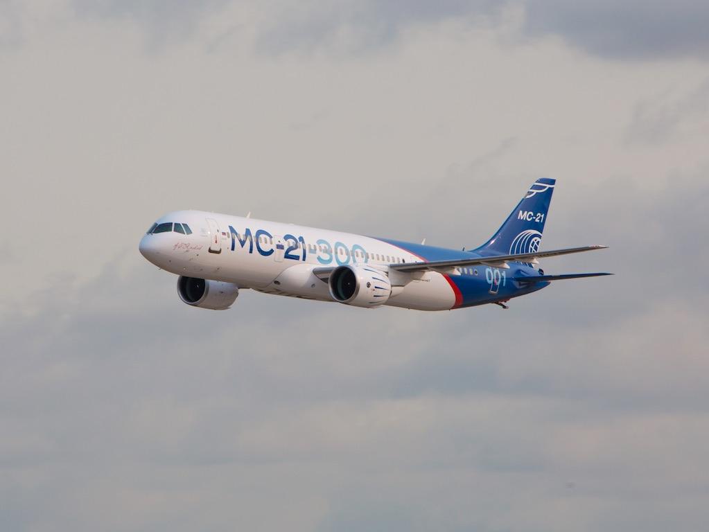 Russie: le MC-21-300 testé sur un premier vol long