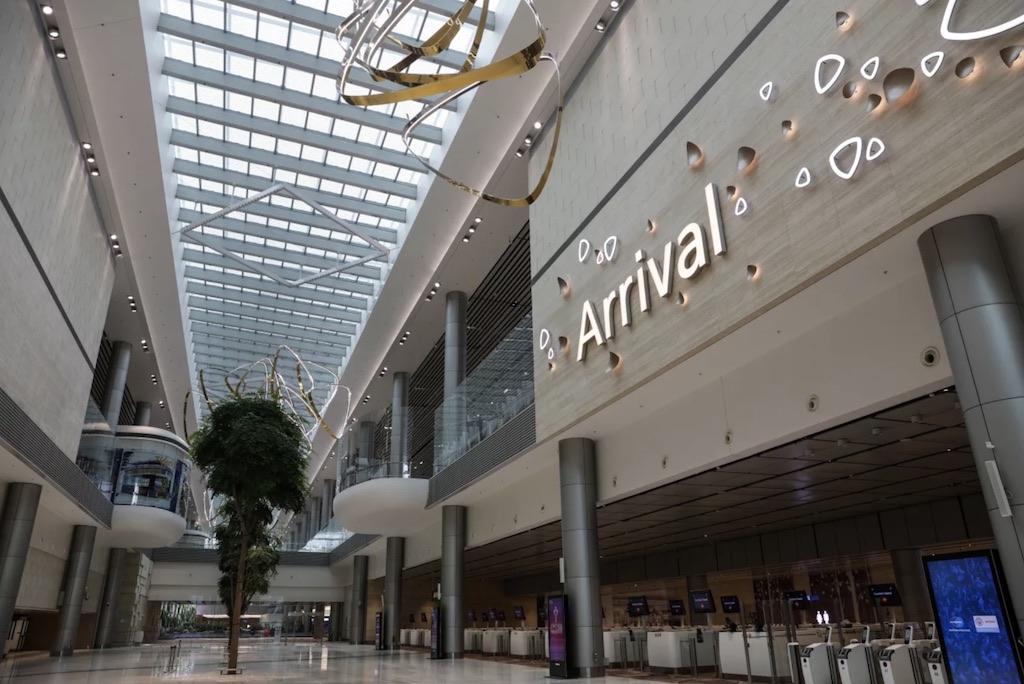 L'aéroport de Singapour ouvre un nouveau terminal high-tech