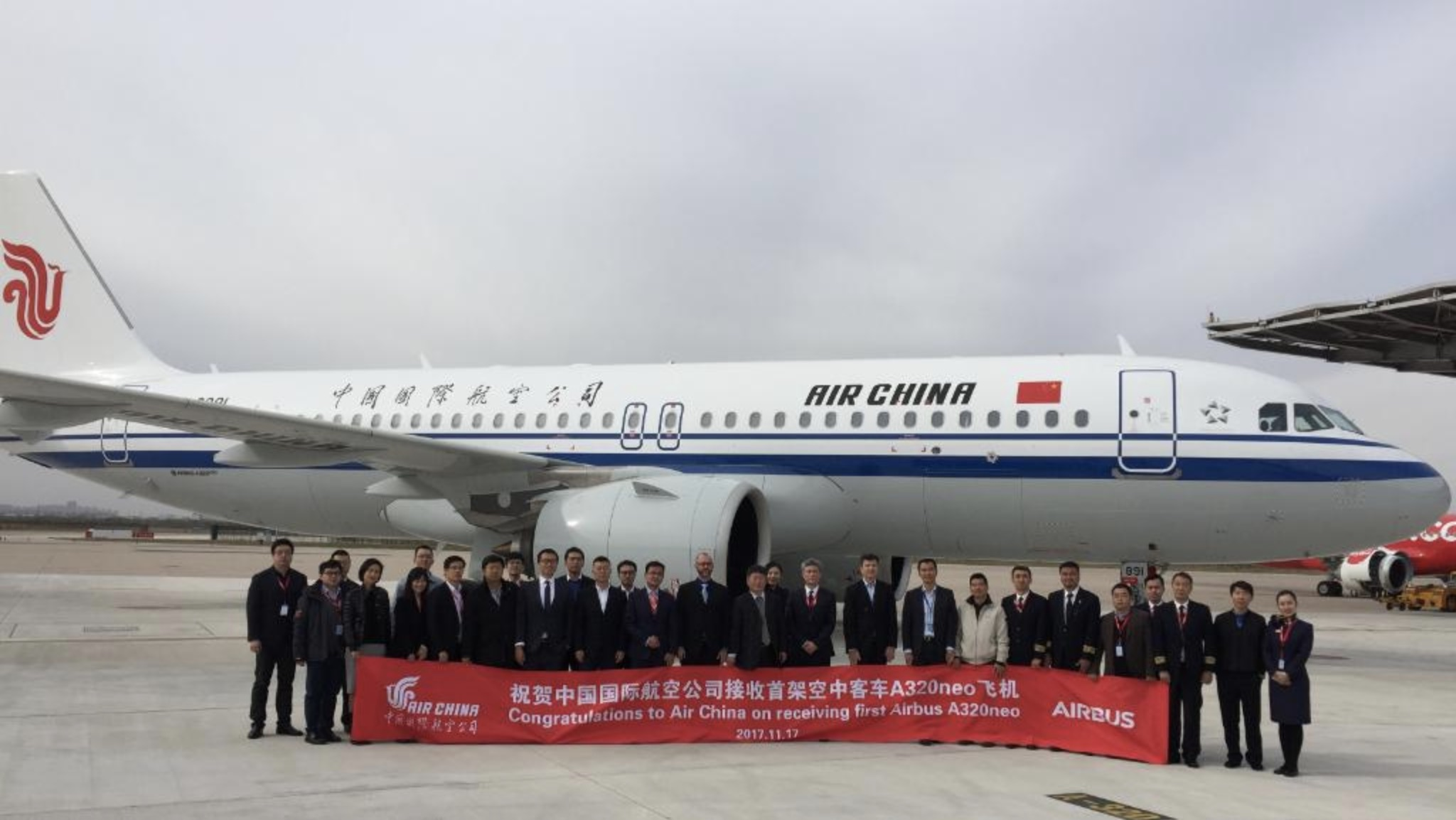 Premier A320neo pour Air China