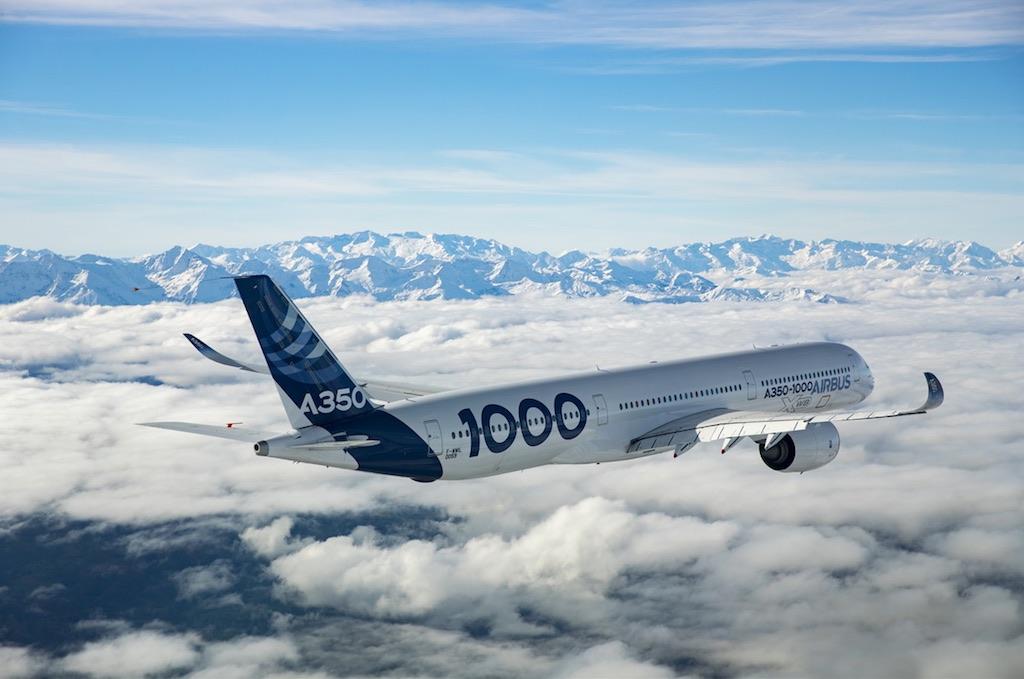 L'A350-1000 obtient sa certification de type