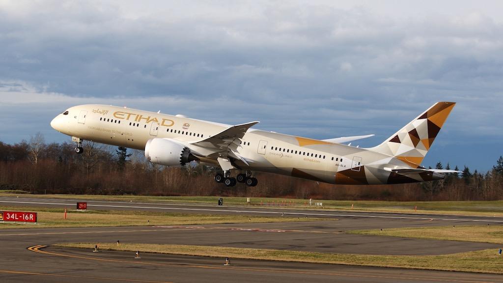 Etihad déploie son 787-9 sur Casablanca