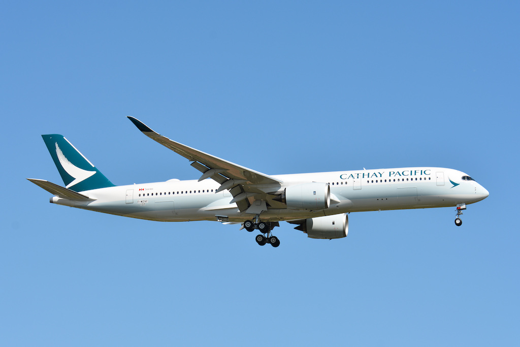 Cathay Pacific part pour Le Cap