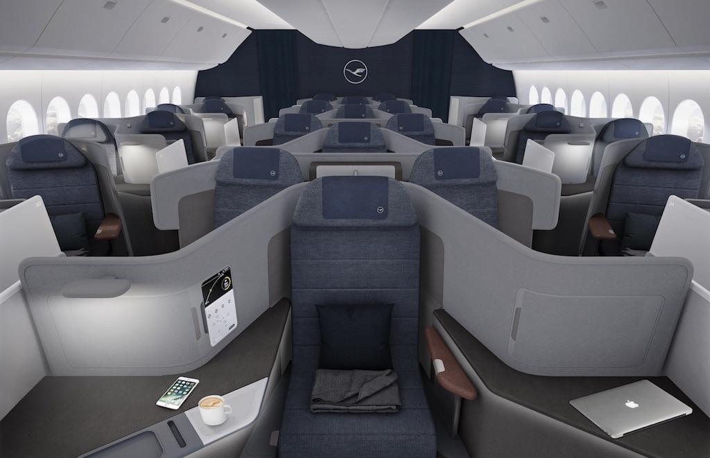 Lufthansa donne un aperçu de la classe Affaires de ses 777X