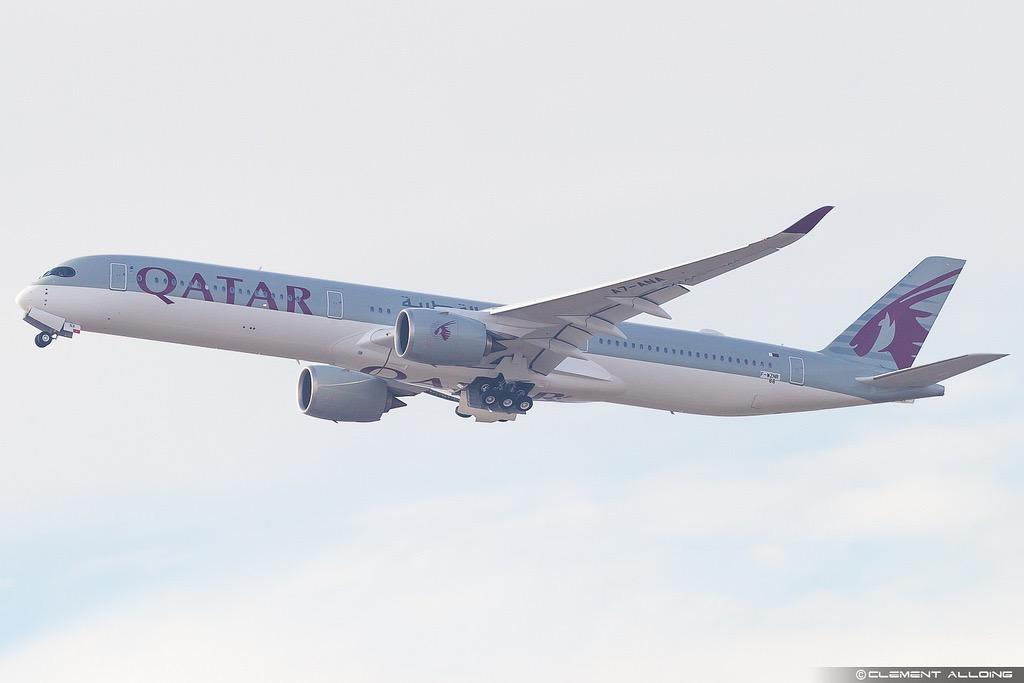 Qatar Airways : le premier A350-1000 livré en février