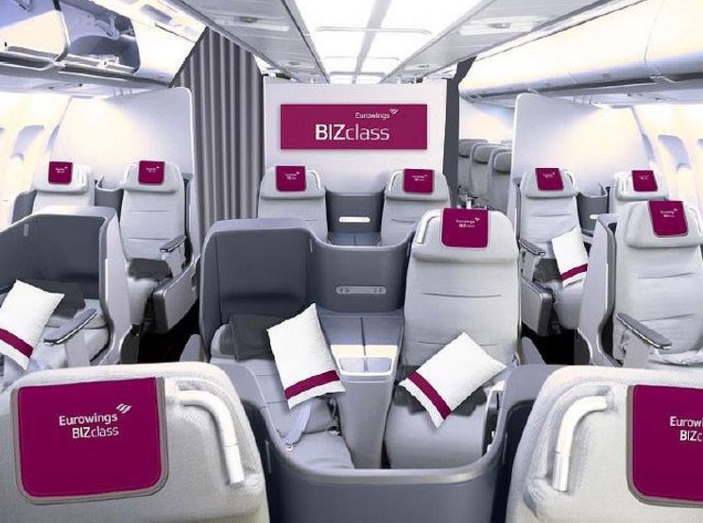 La low-cost Eurowings offrira une classe Affaires sur long-courrier
