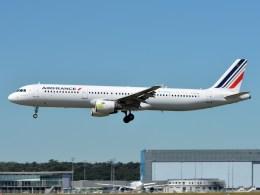 F-GTAQ A321-200 Air France 'Bio Fuel - Lab Line for the future' TLS 04-07-2017