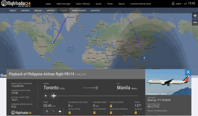 Vol_transpolaire_Philippine_Airlines_Toronto-Manille
