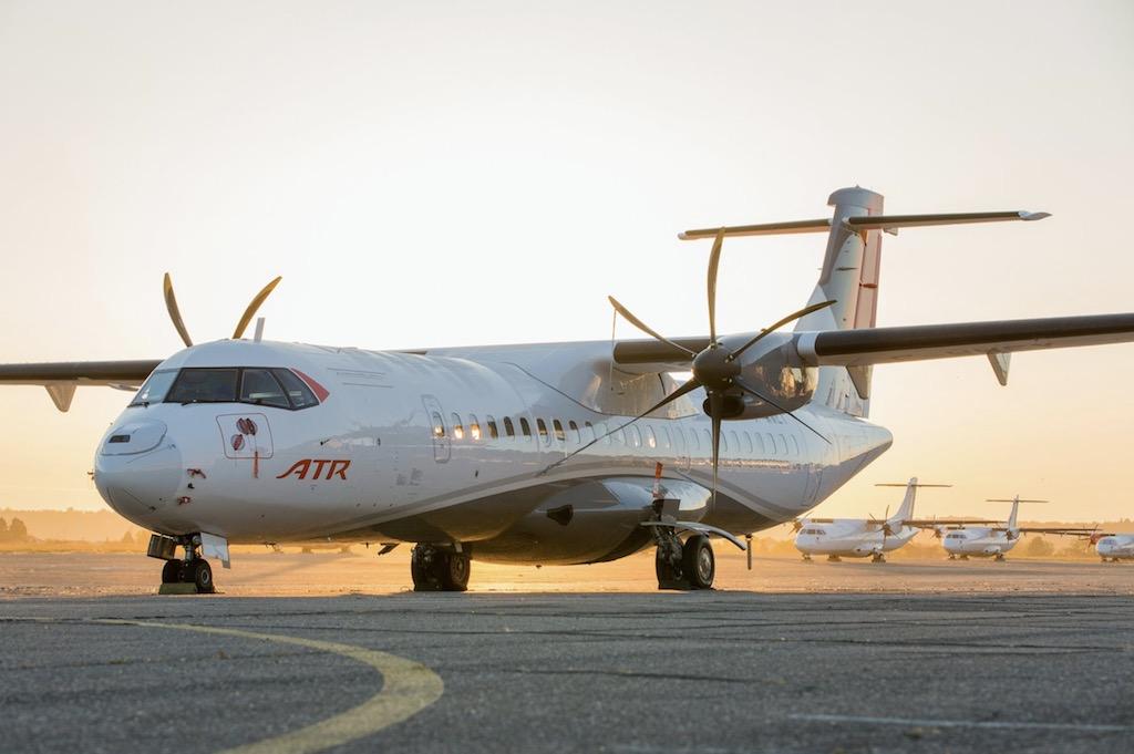 ATR a triplé ses commandes en 2017