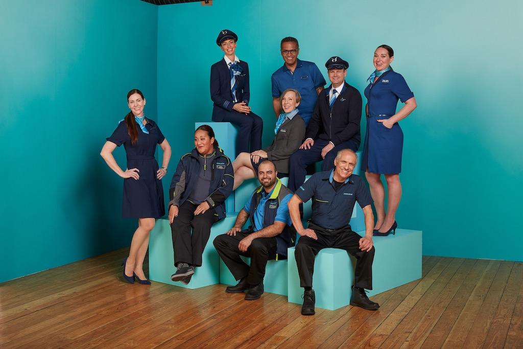 [En images] Alaska Airlines dévoile ses nouveaux uniformes