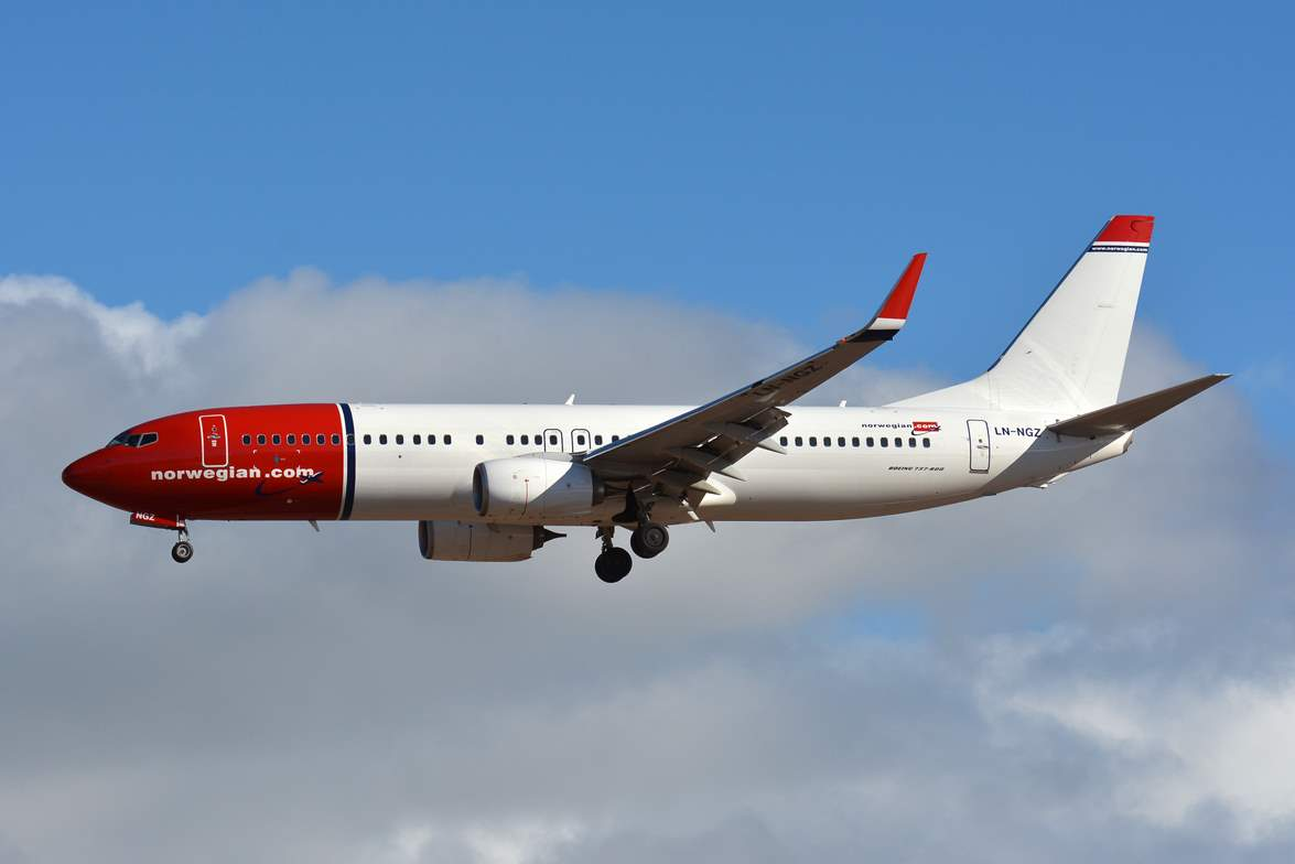 Norwegian Air Argentina reçoit son premier avion