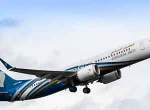 Oman Air_premier_Boeing_737 MAX
