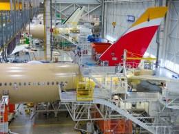 Airbus_A350-900-Iberia-MSN219-VTP-fitting