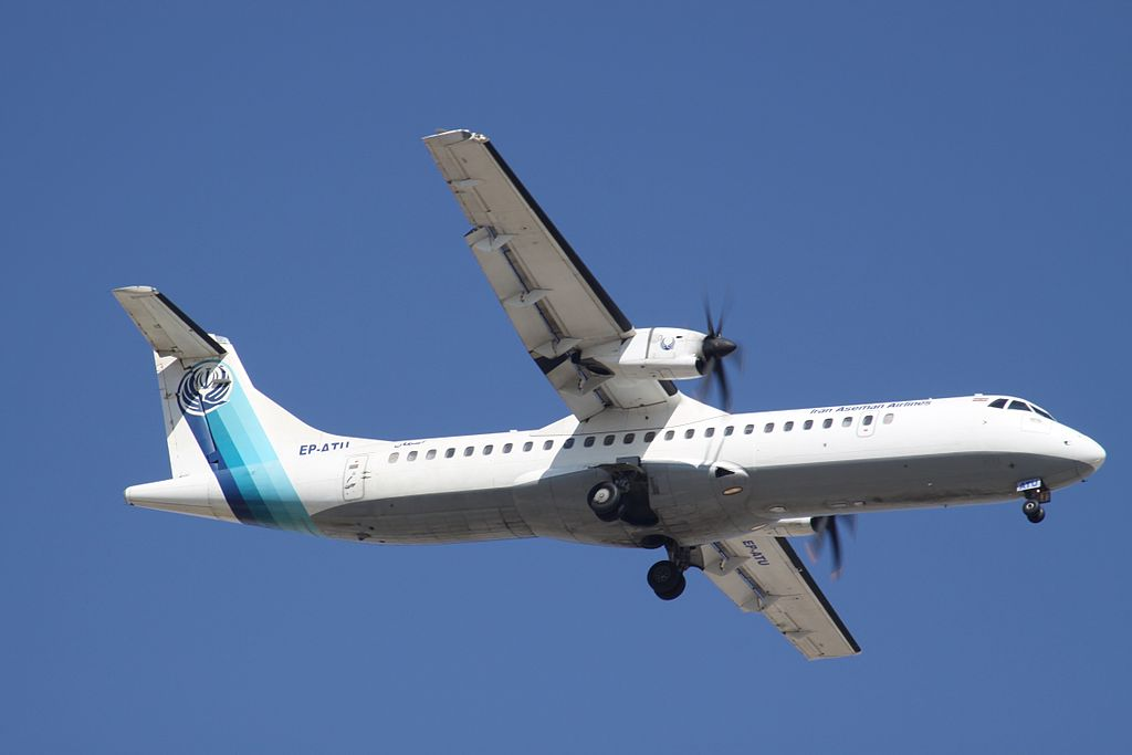 Un ATR 72 d'Iran Aseman Airlines s'écrase avec 66 personnes à bord