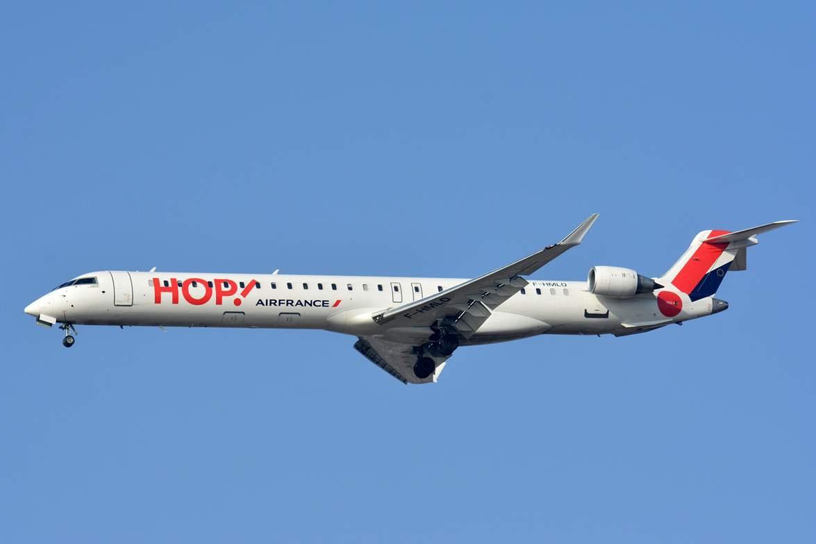 HOP! Air France : hausse de l'offre estivale à Nantes