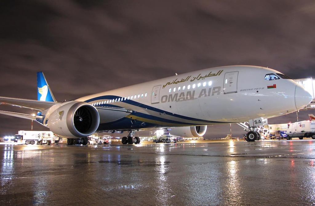Oman Air part pour Casablanca, Istanbul et Moscou