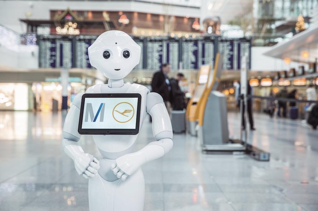 Lufthansa et l'aéroport de Munich testent un robot humanoïde