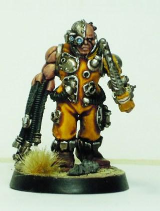 Servitor with servo-arm 2