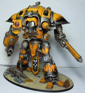 Drasta, the Watcher, Incaladine Knight Errant affiliated to the Legio Fureans