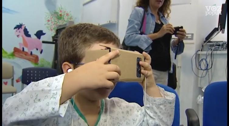 realidad virtual ayuda a niños hospitalizados