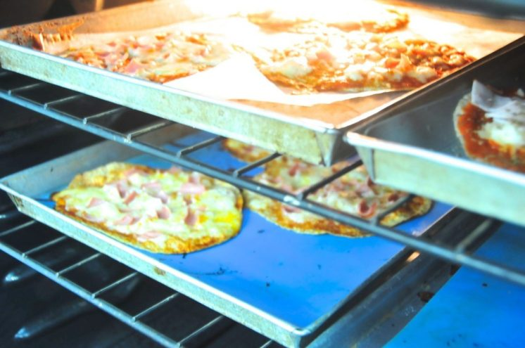pizza casera fácil