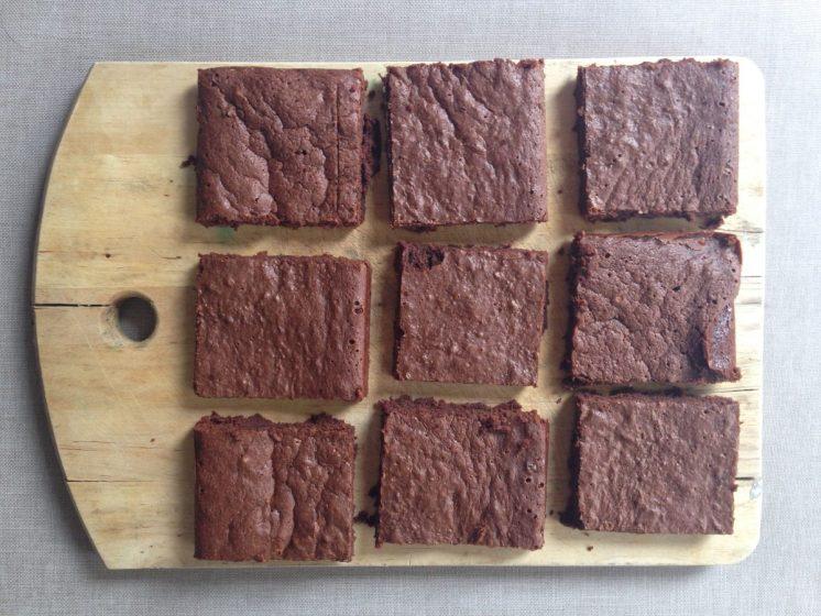 Brownies con cobertura de Chocolate Rainforest Herbal Products