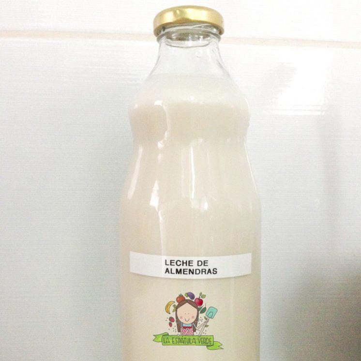 Cómo preparar leche de almendras