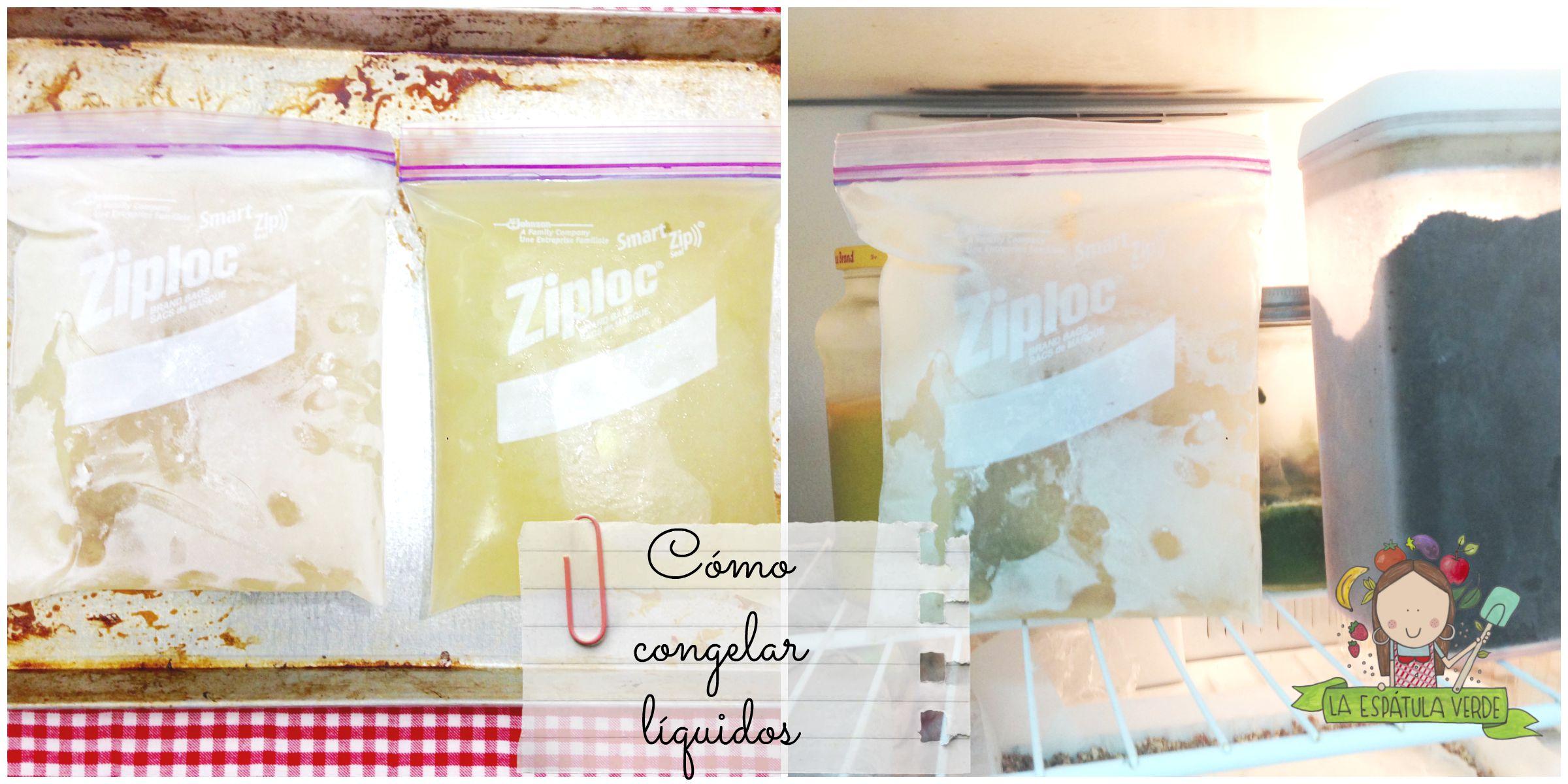 Ideas para congelar comida la esp tula verde for Cocinar una tarde para toda la semana