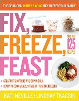Fix, Freeze and Feast - este es buenazo porque tiene recetas para preparar en cantidad!
