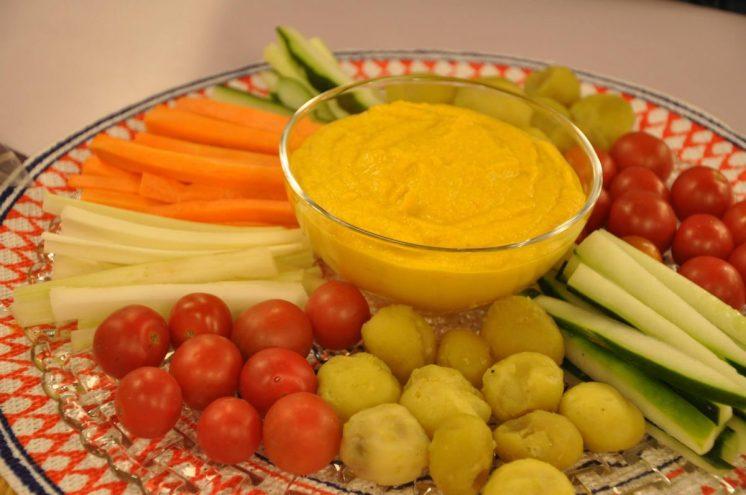 Perfecta para comerla con verduras en un piqueo!