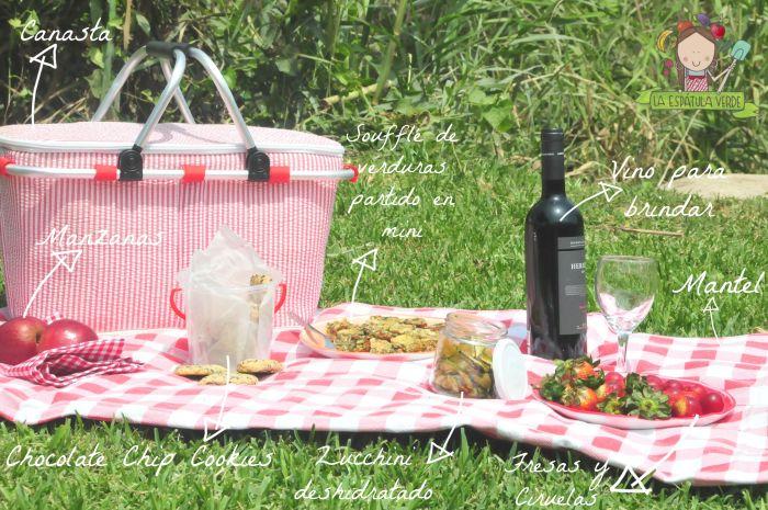 Hacer un picnic es divertido!