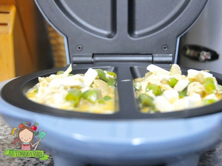 Omelette a la Jardinera con Pollo