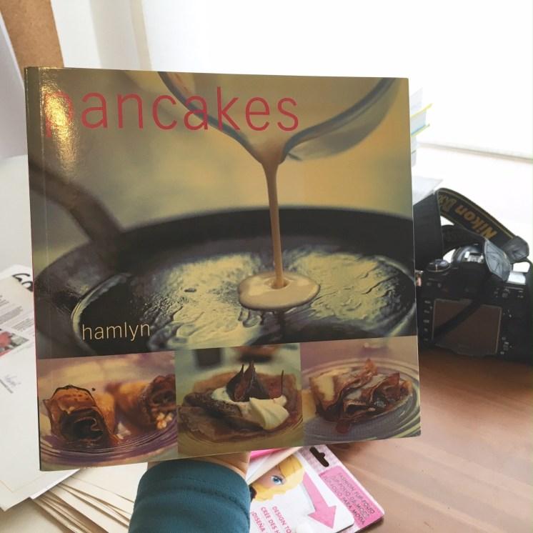 Mi libro especial de Pancakes o Crepes.