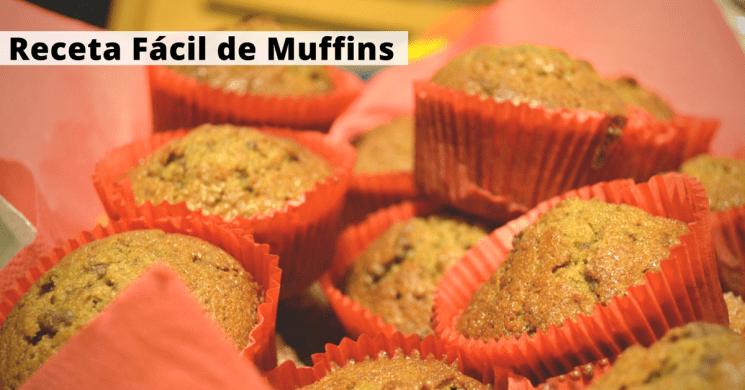 receta facil muffins