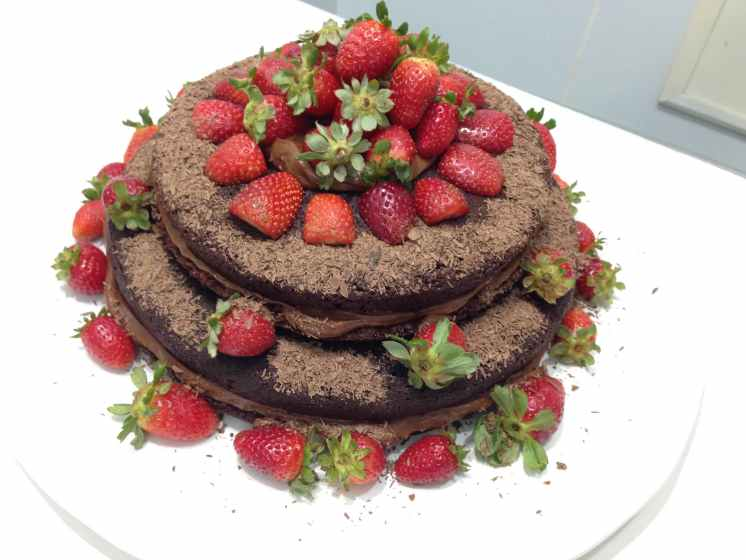 torta de chocolate desayuno