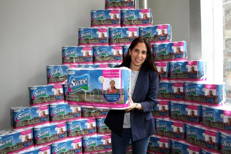 Estaré apoyando este proyecto comprando papel higiénico Suave.
