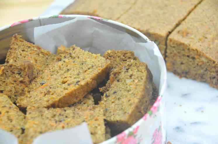 Torta de zanahoria y coco