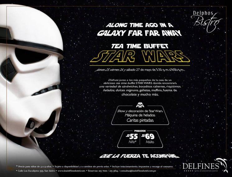 Una experiencia divertida para los fans de Star Wars