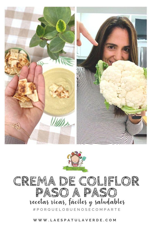 Como hacer crema de coliflor