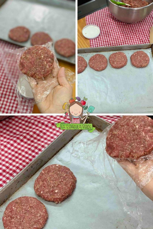 hamburguesas de carne molida con quinua
