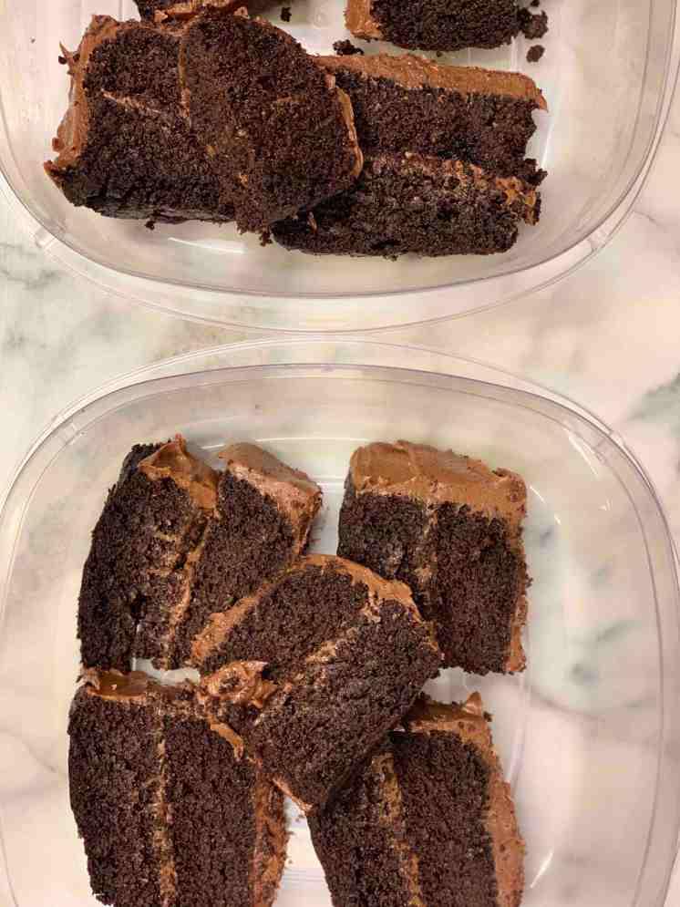 Torta de chocolate con quinua