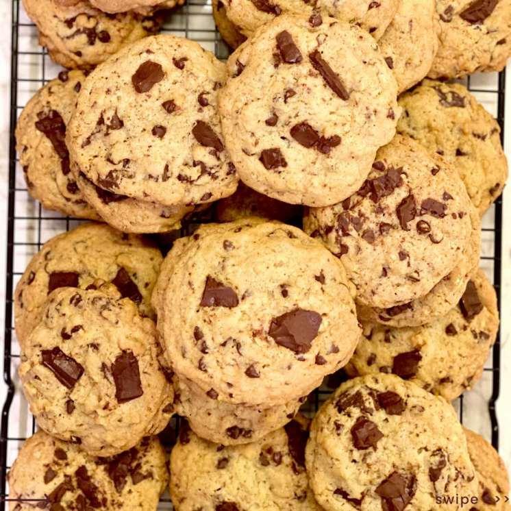 La receta secreta de las galletas Chocolate Chip del Hilton DoubleTree