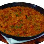 arroz abanda restaurante la estación de los porches
