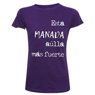 Esta manada aúlla mas fuerte camiseta feminismo yositecreohermana. La manada. Es violación.