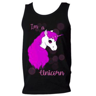 PINK UNICORN unicornio camiseta unicorn ilustracion regalos originales rosa shirts im a unicorn camisetas originales lgtb gay arcoiris HOMBRE CHICO