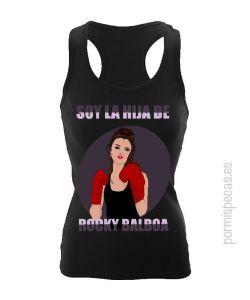 soy la hija de rocky balboa camiseta divertida para chica boxeadora las mejores camisetas para regalar a esa persona especial boxeo deportes camisetas molonas camisetas de humor