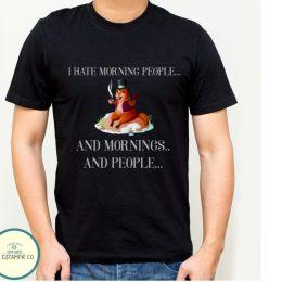 camisetas humor hombre mujeri hate morning and people caisetas basicas baratas para hombre camisetas personalizadas
